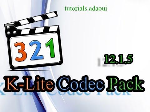 Video K-Lite Codec Pack 12.8.1 2017