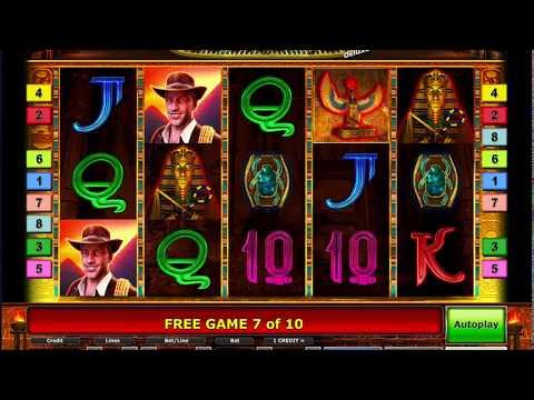 Схема выигрыша в игре Book of Ra Deluxe в казино Вулкан Vulkan