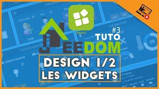 Design 1/2 | Les widgets (widget lumière, widget alarme, widget température,…)