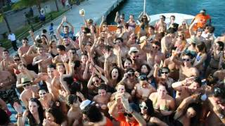 preview picture of video 'RIVIERA MAYA 2012. FIESTA BARCO ISLA MUJERES XCAPE'