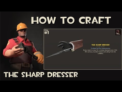 Steam community video team fortress 2 how to craft the steam community video team fortress 2 how to craft the sharp dresser malvernweather Gallery