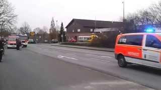 preview picture of video 'Rettungshubschrauber Christoph startet bei Feuerwehr Oer-Erkenschwick - 13.12.2014'