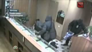 Дерзкий налет со стрельбой в Волгограде попал на видео