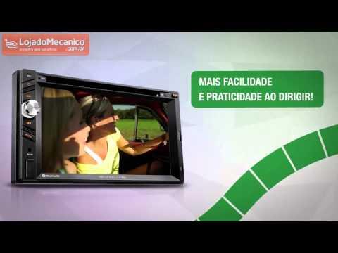 Central Multimídia Evolve DVD/CD Player GPS e TV Digital - Video