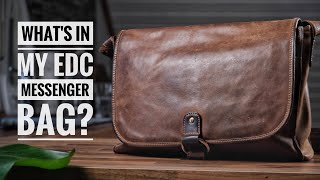 My Everyday Carry Messenger Bag (Late 2019) I Whats In My Bag? (4K)