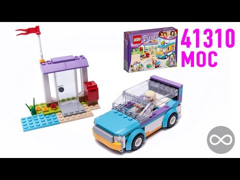 Lego Friends Heartlake Gift Delivery 41310 Toys R Us Uk