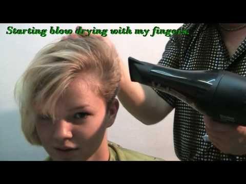 Die Gelatine die Maske vom Haarausfall