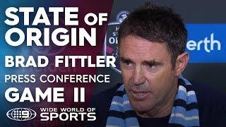 State Of Origin Press Conference: Brad Fittler - Game II | NRL On Nine