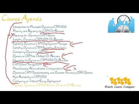 Introduction to Microsoft Dynamics CRM 2015 On-Premises - YouTube