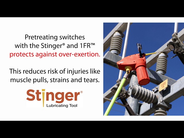 Stinger® System - 50% Reduction in Muscle Exertion during Switching - Ergonomic EMG Testing at Electricity Forum