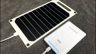 Ultralight Backpacking 5WSolar Panel by Docooler