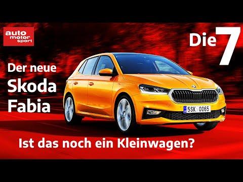 Riesengroß, kein Hybrid: Ist das noch ein Kleinwagen? 7 Fakten zum Skoda Fabia| auto motor und sport