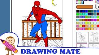 Spiderman Coloring Pages Colouring Book ♥ Kolorowanki Malowanki dla dzieci Spajdermen
