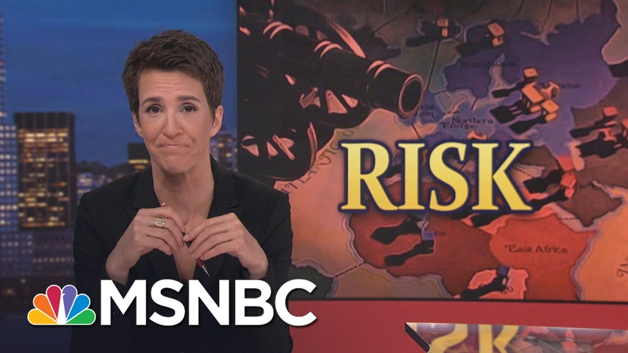 President Donald Trump's Oil Grab Policy Puts US Troops At Risk | Rachel Maddow | MSNBC thumbnail