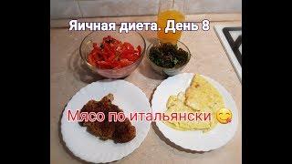 Яичная диета. День 8. Мясо по итальянски в бумаге