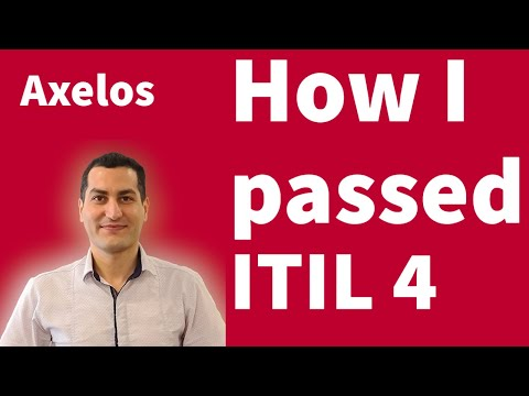 How I Passed the ITIL 4 Foundation Exam
