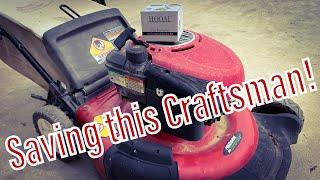 Craftsman Mower Won't Start - Replace the Carburetor