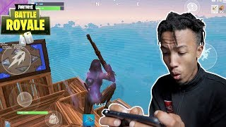 this would have been my best trick shot * fortnite mobile