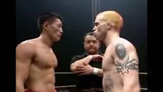 Kung Fu (Sanda) vs MMA in Kickboxing Match