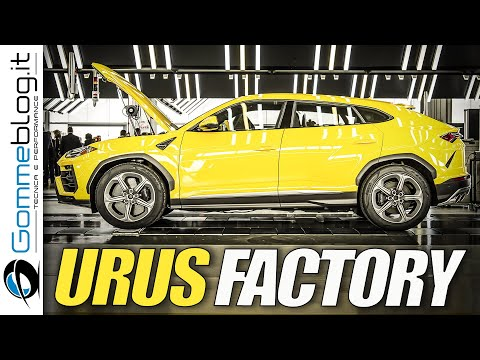 Lamborghini URUS CAR FACTORY - The MEGA SUV Lambo 2018 Is Here