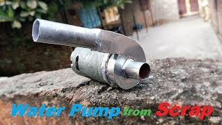 How to make Powerful 12V DC Water Pump