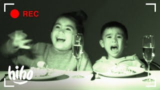 Kids Try Dining in the Dark | Kids Try | HiHo Kids