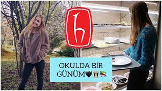 OKULDA BİR GÜNÜM | VLOG Hacettepe