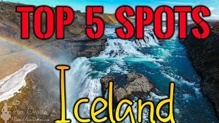 Top 5 Locations to fly a Drone in Iceland