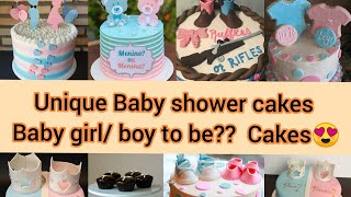 Incredible Baby Shower Cakes    Baby girl/boy to be cakes😍   Amazing baby shower cakes of 2021😍😇