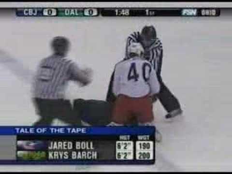 Jared Boll vs Krys Barch