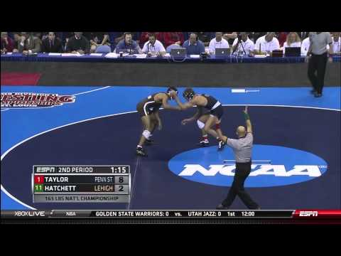 NCAA Wrestling National Championships Division 1 David Taylor vs. Brandon Hatchett