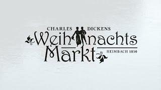 Charles Dickens Weihnachtsmarkt 2020 in Heimbach