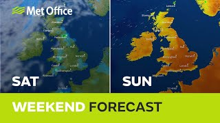 Weekend weather – hot sunshine for some, but not for all