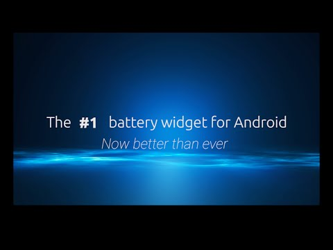 Video of Battery Widget+ (Ad free)