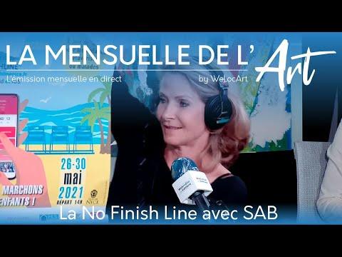 [La Mensuelle de l'Art] La No Finish Line à Nice avec la Team Sab & WeLocArt