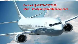 Get the Best Emergency King Air Ambulance Service in Jamshedpur and Allahab