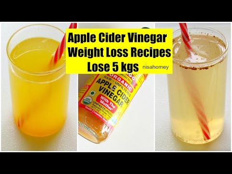 Apple Cider Vinegar For Weight Loss – Lose 5 kgs – Fat Cutter Morning Routine Drink Recipe