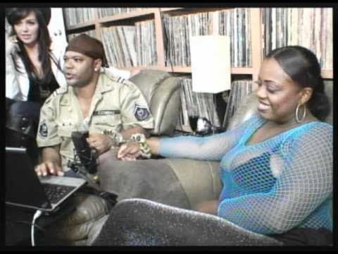 BBW Adult Film Star Buttafly Azz Exposed On TreLuv Show (Pt 2/2)