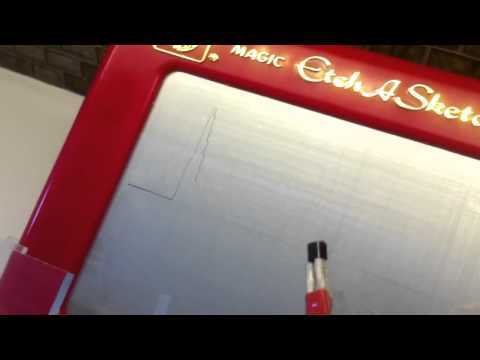 Hack An Etch A Sketch To Log Temperatures