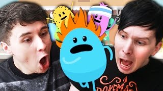 New Dan vs Phil We try and protect some innocent beans in DUMB WAYS TO DIE