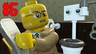 КАК НАЙТИ САМУЮ ЛУЧШУЮ КАМЕРУ В ТЮРЬМЕ? Игра Лего сити Прохождение. LEGO City Undercover 5