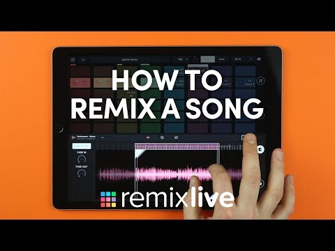 How to remix a song | Remixlive 4.0