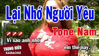 karaoke-lai-nho-nguoi-yeu-tone-nam-nhac-song-trong-hieu