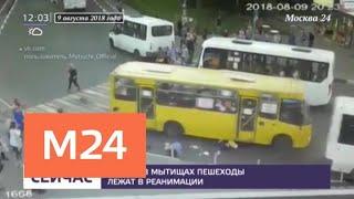 Сбитые в Мытищах пешеходы находятся в реанимации - Москва 24
