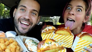 FOODIES TRY THE BEST EGG SANDWICHES IN LOS ANGELES with GABBIE HANNA!!