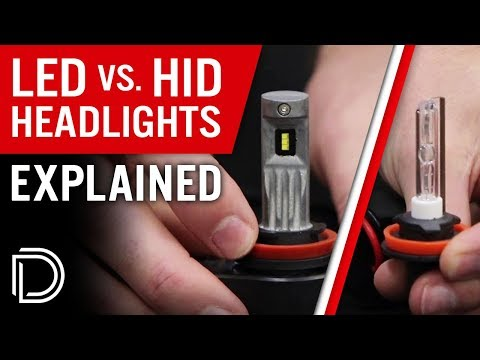 HID vs LED Headlight Bulbs: EXPLAINED