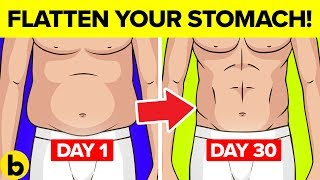 9 Proven Ways To Flatten Your Stomach