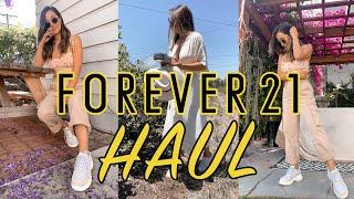 Forever 21 Haul 2020