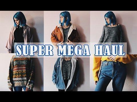 SUPER MEGA HAUL DE TEMPORADA / romwe, zara, zatro, pull…
