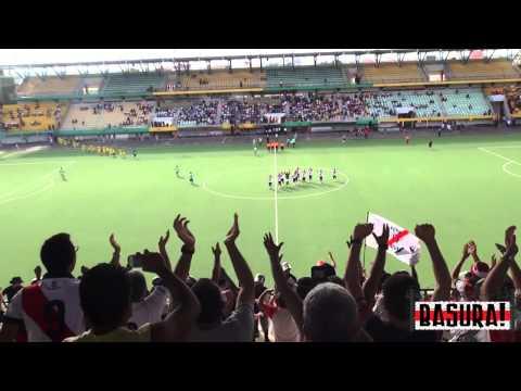 """Basura! 28: San Alejandro 1 - Deportivo Municipal 2"" Barra: La Banda del Basurero • Club: Deportivo Municipal"